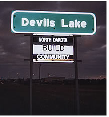 Devils Lake - A North Dakota Build City